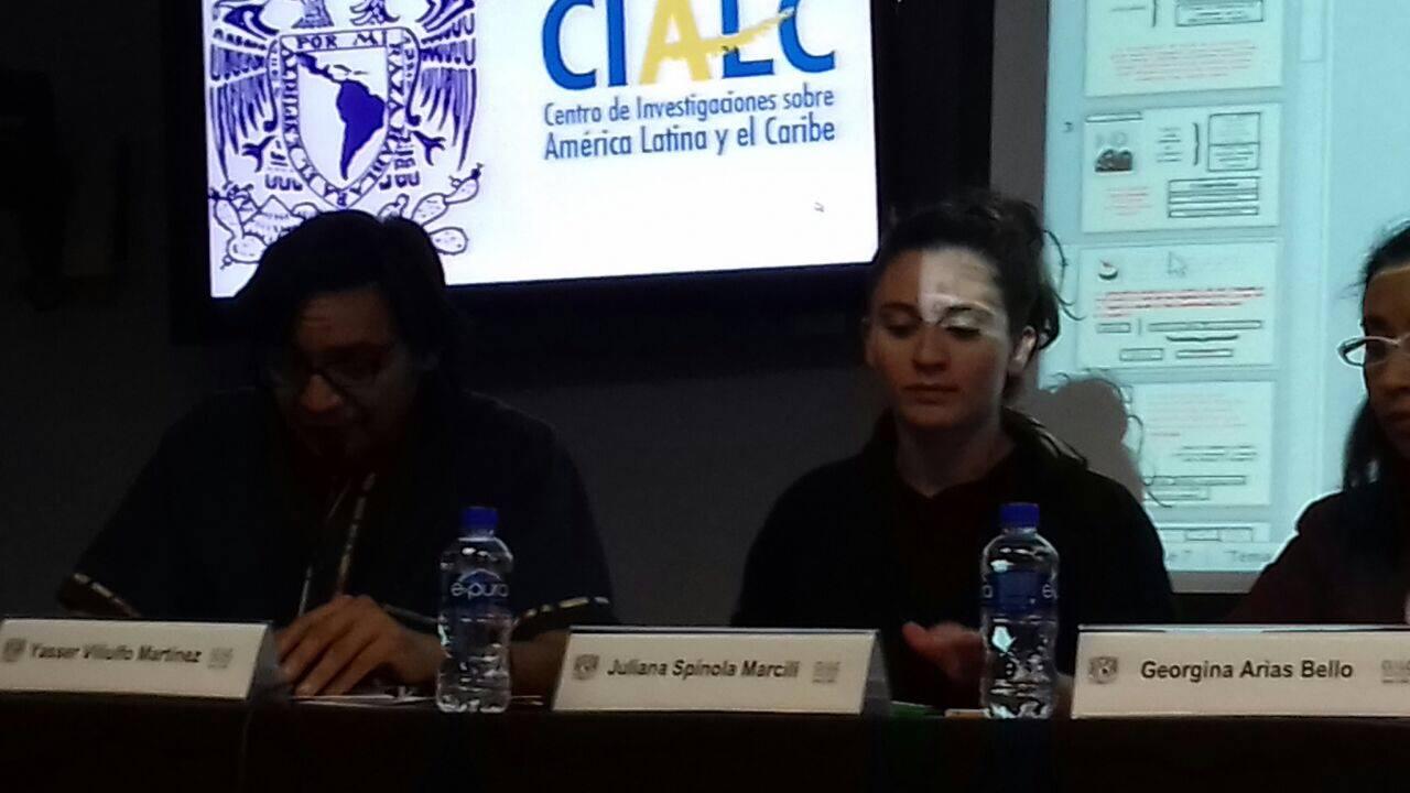 Ponencia CIALC, UNAM