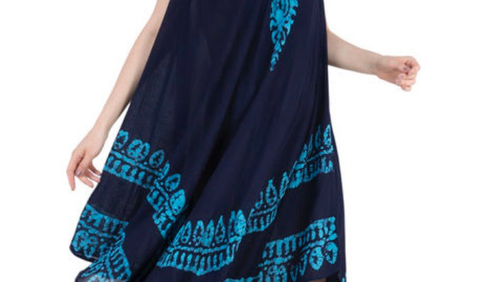 Boho Beach Kaftan Dress