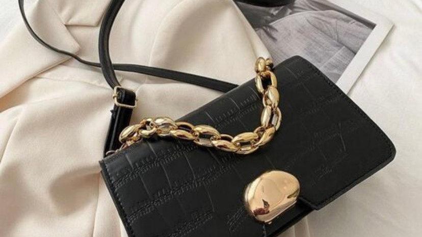 Croc Baguette Sling Bag