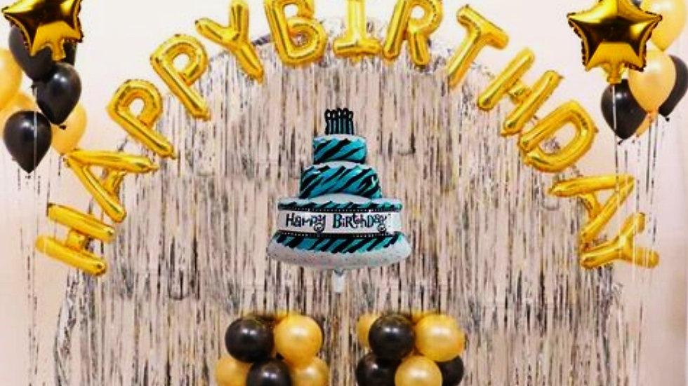 Happy Birthday Decoration Set