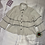 Thumbnail: White Layered Shirt with Flare Sleeves | Size: S