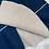 Thumbnail: Dark Blue Skater Skirt | Size M
