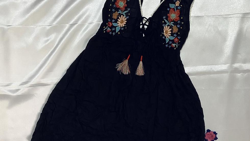 Beach Boho-chic Skater Dress | Size M