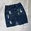 Thumbnail: Distressed Denim Skirt | Size M