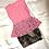 Thumbnail: Blush Pink Mesh Peplum Dress   Size S
