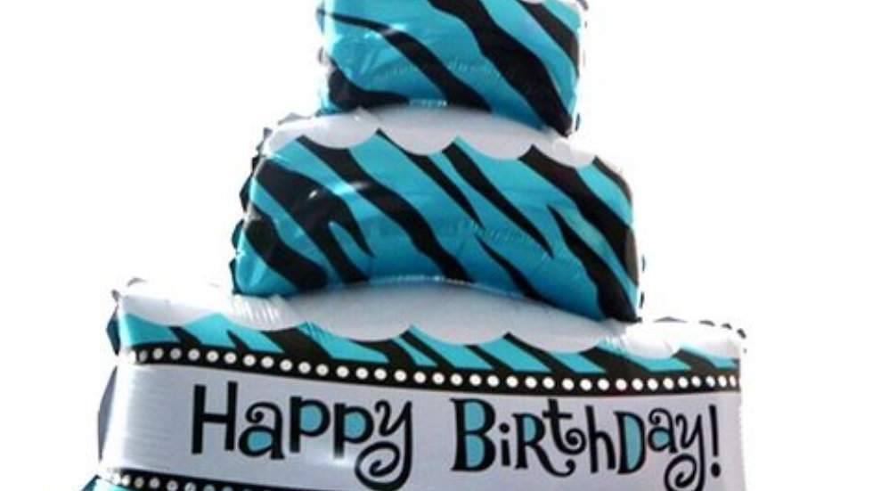 Attractive printed deco cake shaped