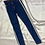 Thumbnail: Striped High Waist Denim | Size 24""