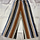 Thumbnail: Multicolor Striped Palazzo Pant with Pockets | Size S