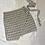 Thumbnail: Checkered Black Mini  Wrap Skirt | Size L
