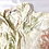 Thumbnail: Vintage 70s Abstract Floral Beige Shirt