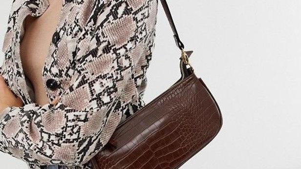 Croc Baguette Bag