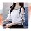 Thumbnail: White cold shoulder knots top