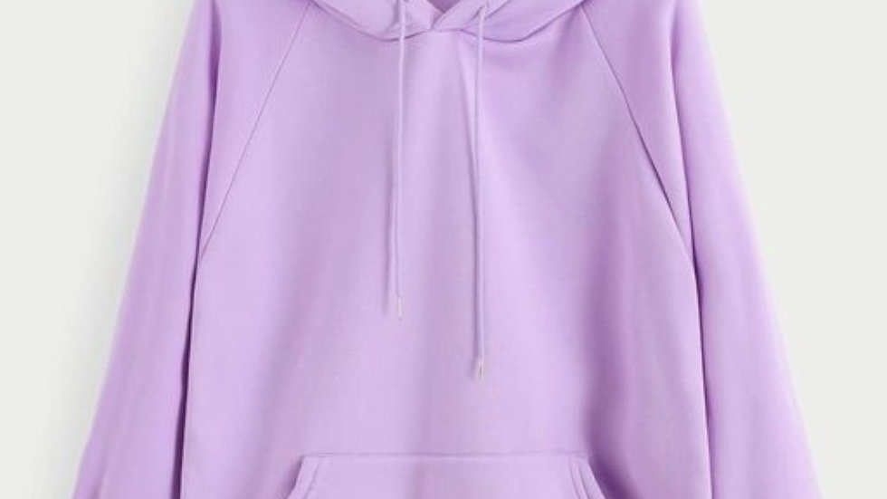Aesthetic Lilac Unisex Pullover