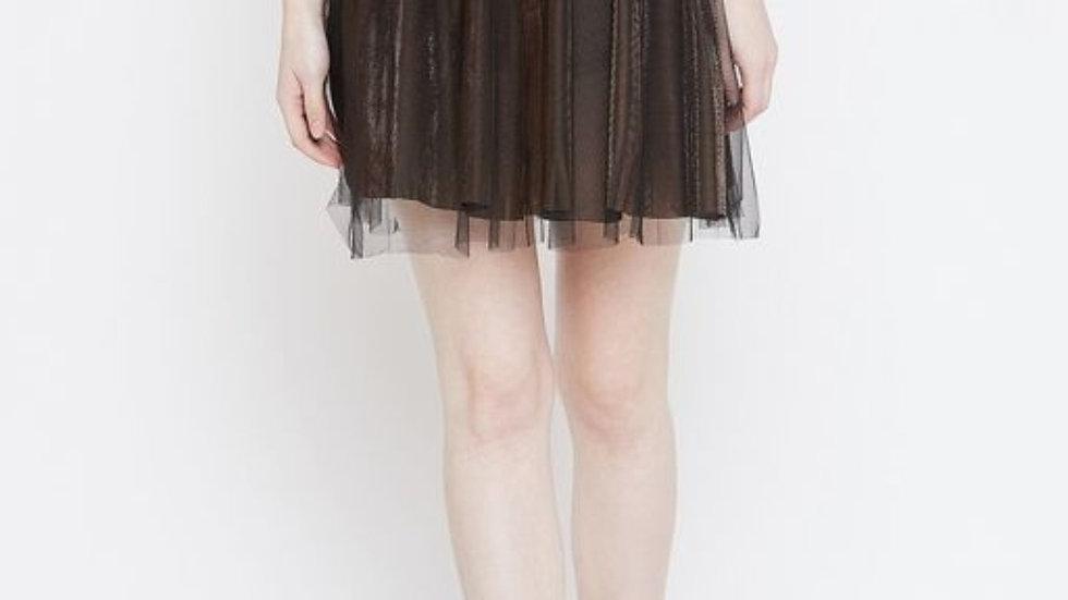 Copper Gold Mesh Skirt