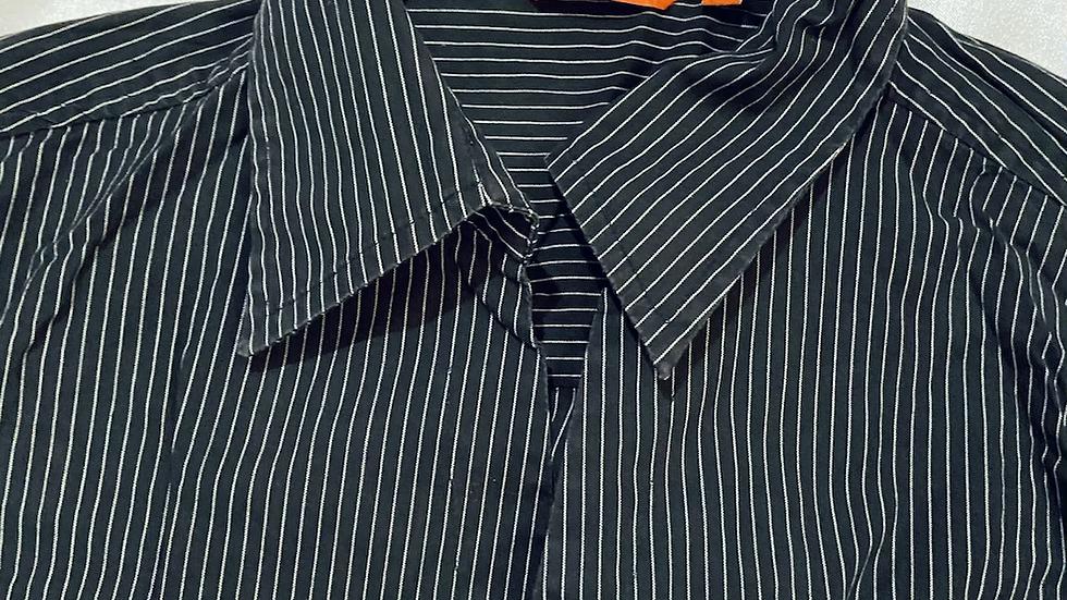 B/W Striped Shirt | Fit: XXS-S