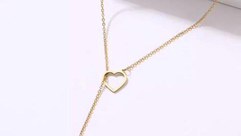 Drop your Heart Minimalist Pendant