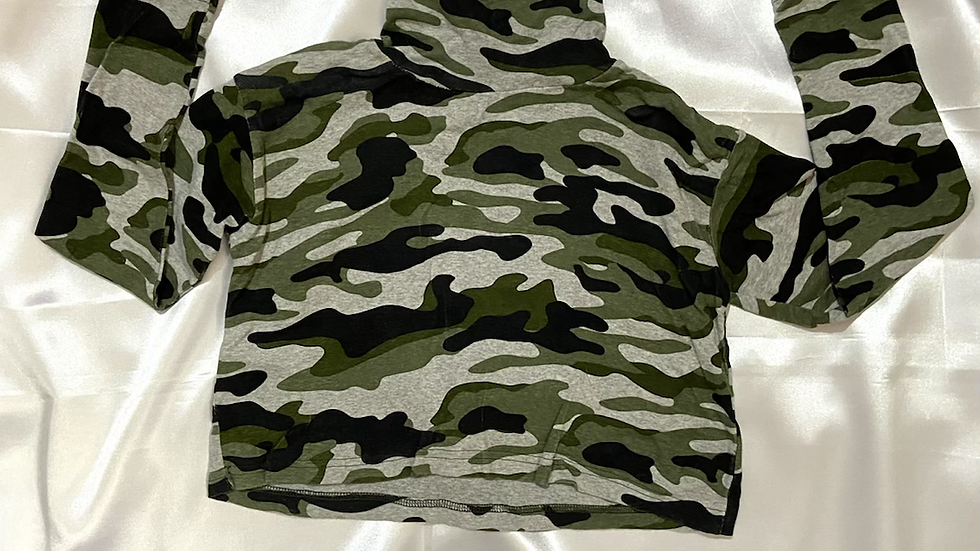 H&M Camouflage Crop Top | Fit XS | Preloved