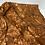 Thumbnail: Copper Orange Golden Sunset Vintage Satin Shirt