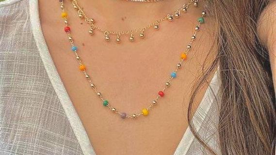 Boho Beads Summer Neckpiece