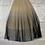 Thumbnail: Beige Mesh Pleated Elastic Waist Skirt | Size S