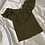 Thumbnail: Olive Green Top with Ruffle Details | Size S