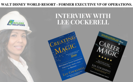 Walt Disney World Resorts - Former Executive Vice President of Operations - Lee Cockerell