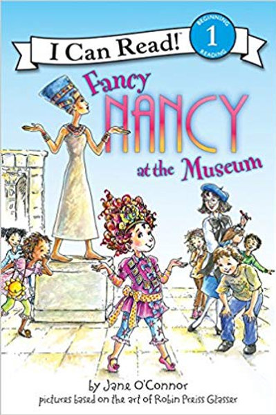 "Fancy Nancy ""At the museum"""