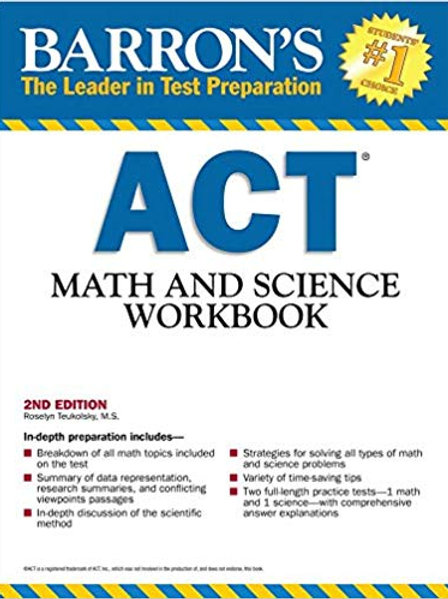 ACT Math and Science Workbook 2nd Edition