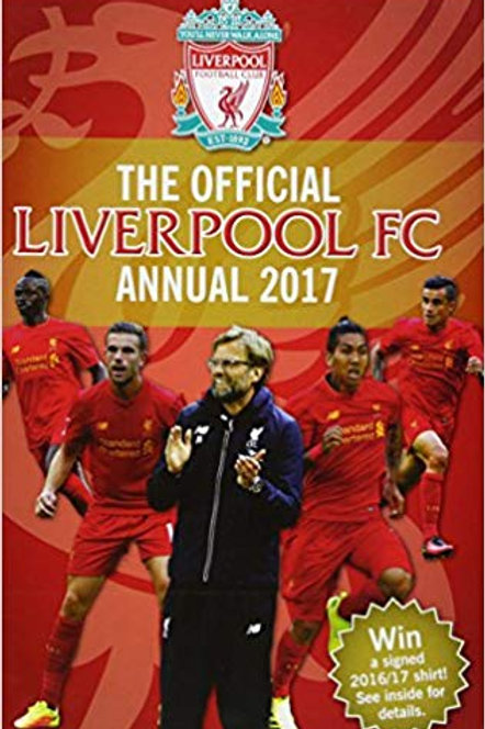 The Official Liverpool FC Annual 2017