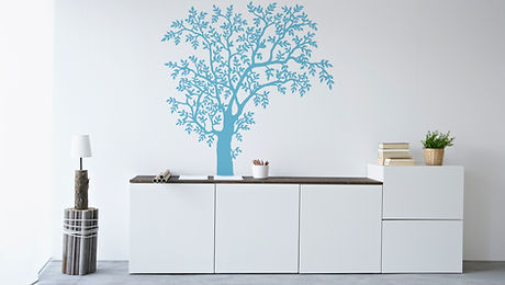 interior wall sticker