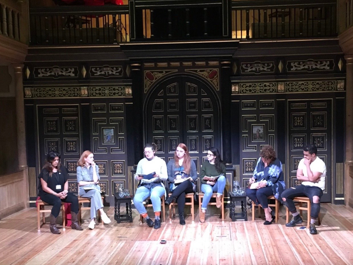 The Act For Change Project at The Sam Wanamaker Playhouse