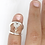 Thumbnail: Heart Adjustable Swan Splint Ring