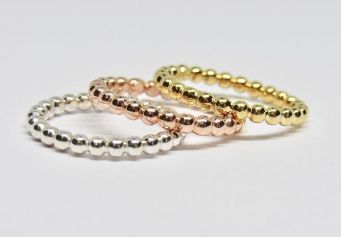 Beads Stack Ring