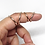 Thumbnail: Splint Ring in 14k Rose Gold Fill • Adjustable for PIP or DIP Joints