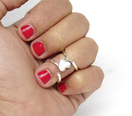 Mallet Finger Ring Splint • Boutonniere Finger Ring