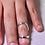 Thumbnail: Swan Splint Ring in Sterling Silver