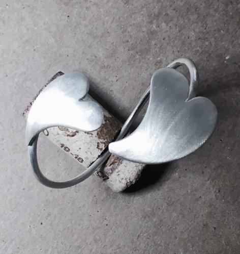 Heart Shaped Bracelet Sterling Silver