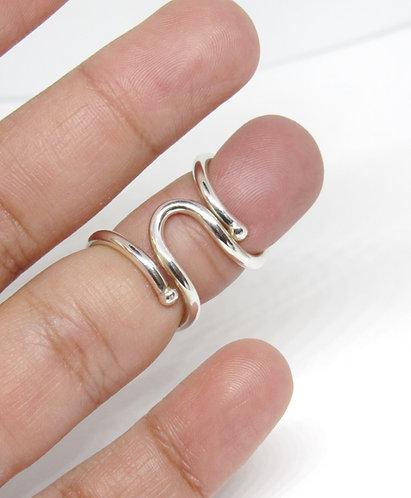Multi use Silver Splint Ring