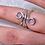 Thumbnail: Mallet Finger Splint Ring for PIP or DIP joint