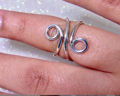 Mallet Finger Splint Ring for PIP or DIP joint