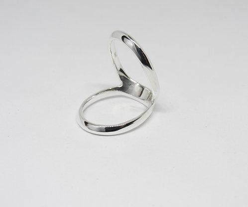 Swan Splint Ring in Sterling Silver