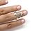 Thumbnail: Heart Mallet Finger Ring • Trigger Finger Splint Ring • Sterling Silver Ring • T