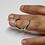 Thumbnail: Adjustable wire Swan Splint Ring for DIP or PIP joint