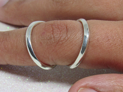 Adjustable Swan Splint Ring