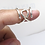 Thumbnail: Swirl Multi use Silver Splint Ring