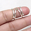 Thumbnail: Chevron Multi use Silver Splint Ring