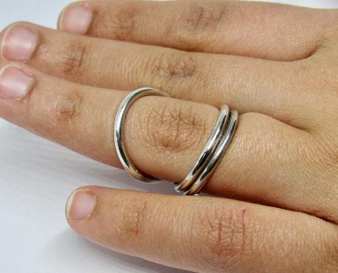 Adjustable Swan Splint Ring