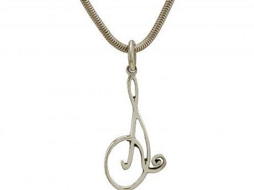 BGCQ pendant 1 in sterling silver (Divine Name Compeller Pendant)