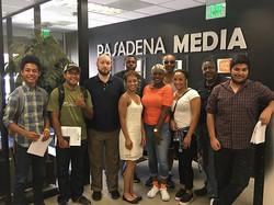 New beginning! _pasadena_media #unlimited #talkshow #host #team #training #focus #media #training #v