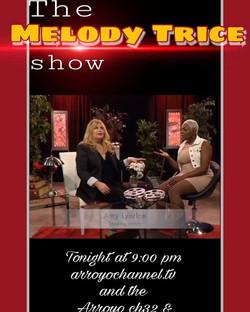 #Happing #today at 9pm #amylyndon #melody #trice #talk #show #tv #pasadena #media #actor #actress #h